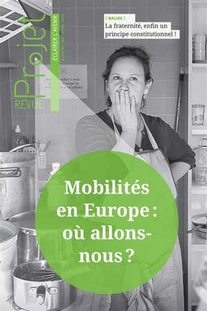 Projet. n° 369, Mobilités en Europe où allons-nous ?