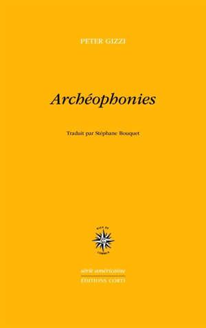 Archéophonies