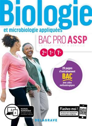 Biologie et microbiologie appliquées, bac pro ASSP en structure et à domicile, 2de, 1re, terminale