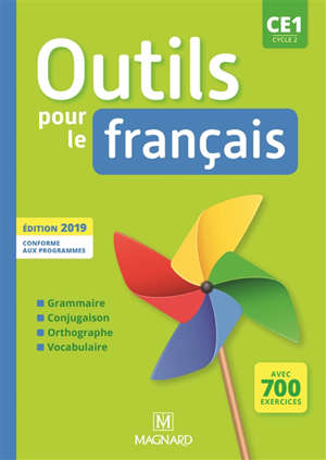Outils pour le français CE1, cycle 2 : conforme aux nouveaux programmes