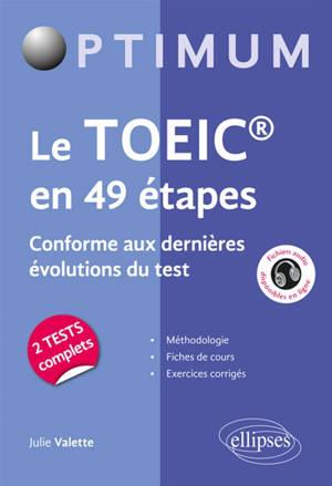 Le TOEIC en 49 étapes : conforme aux nouvelles évolutions du test