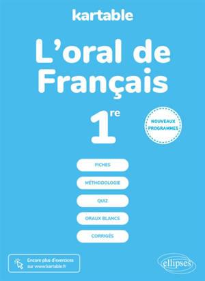 L'oral de français, 1re : nouveaux programmes