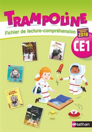 Trampoline CE1 : fichier de lecture compréhension : 2019