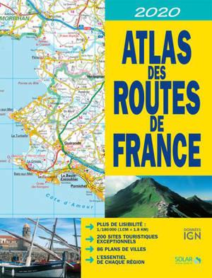 Atlas des routes de France 2020