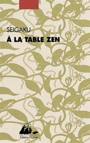 A la table zen