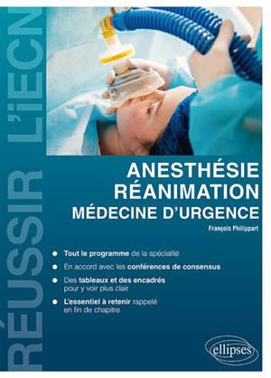 Réanimation, médecine d'urgence et anesthésie