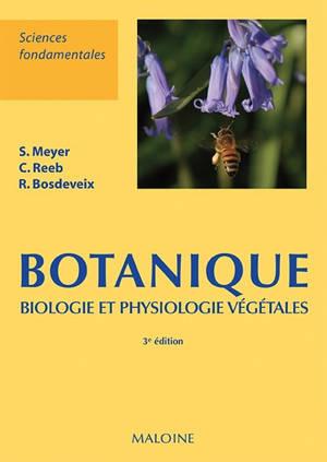 Botanique : biologie et physiologie végétales