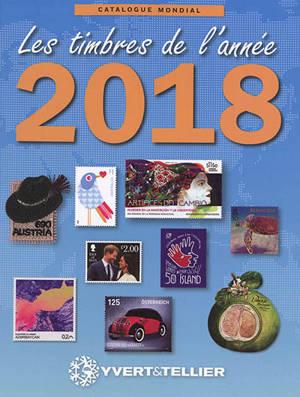 Catalogue de timbres-poste, Nouveautés mondiales de l'année 2018