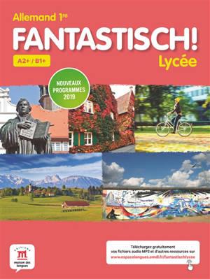 Fantastisch ! Lycée : allemand 1re : livre de l'élève
