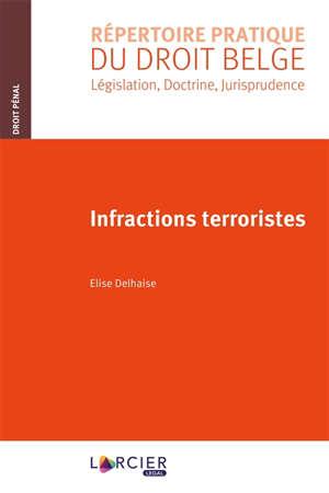 Infractions terroristes