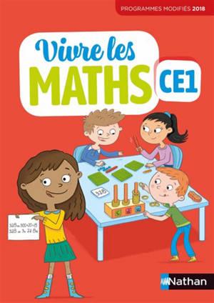Vivre les maths CE1 : fichier élève