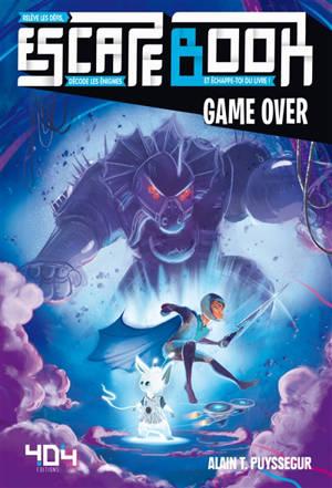 Escape book : game over