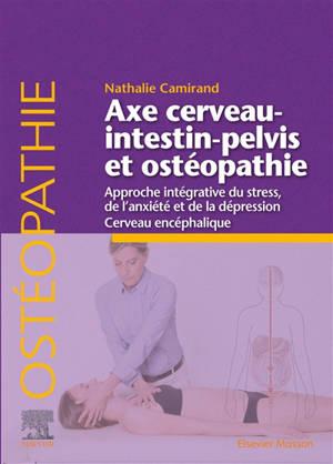 Axe cerveau-intestin-pelvis et ostéopathie : approche intégrative du stress, de l'anxiété et de la dépression : cerveau encéphalique