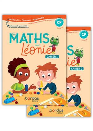 Les maths avec Léonie : fichiers 1 et 2 : CP, cycle 2