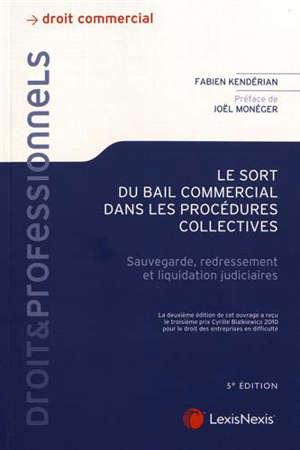 Le sort du bail commercial dans les procédures collectives : sauvegarde, redressement et liquidation judiciaires