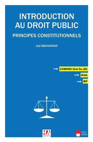 Introduction au droit public : principes constitutionnels