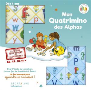 La planète des Alphas, Quatrimino des Alphas : jeu recommandé GS, CP, CE1 et + : à jouer en famille de 6 à 86 ans