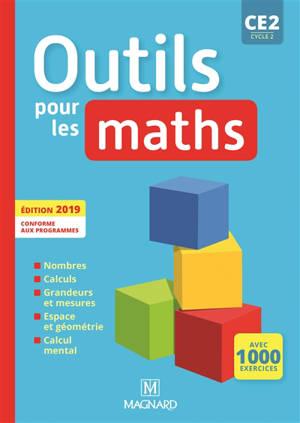 Outils pour les maths : CE2 : manuel de l'élève