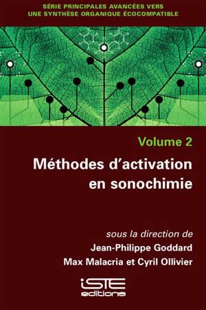 Méthodes d'activation en sonochimie