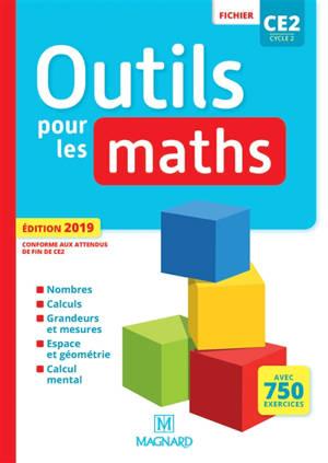 Outils pour les maths CE2, cycle 2 : fichier : avec 750 exercices