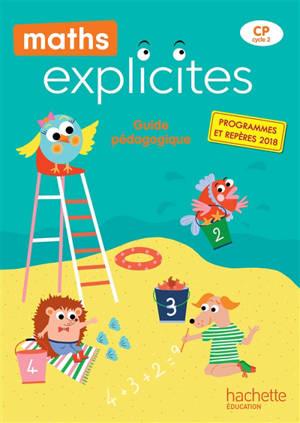 Maths explicites CP : guide pédagogique