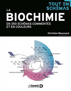 La biochimie : en 250 schémas commentés et en couleurs