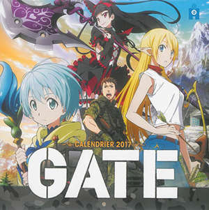 Gate : calendrier 2017