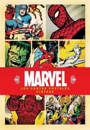 Marvel : coffret 100 cartes postales