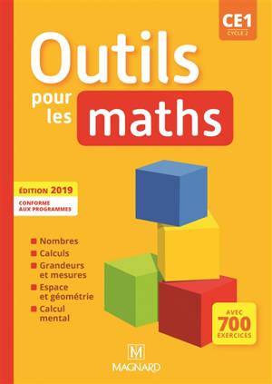 Outils pour les maths CE1, cycle 2 : conforme aux programmes