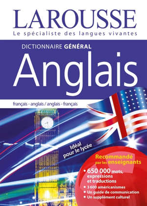 Dictionnaire général anglais : français-anglais, anglais-français