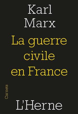 La guerre civile en France : la Commune de Paris