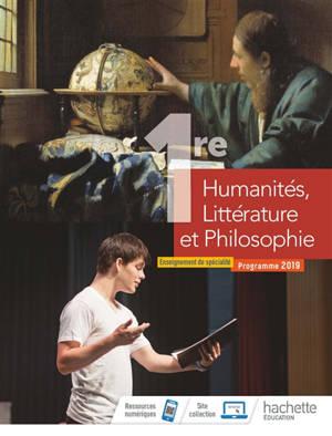 Humanités, littérature et philosophie 1re : enseignement de spécialité : programme 2019
