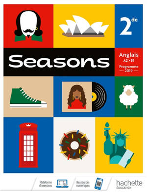 Seasons : anglais : 2de, A2-B1, programme 2019