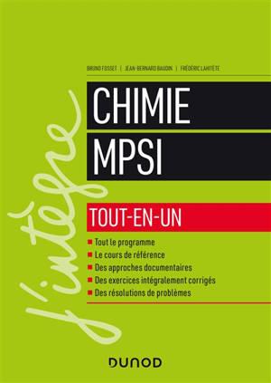 Chimie MPSI
