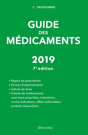 Guide des médicaments : 2019