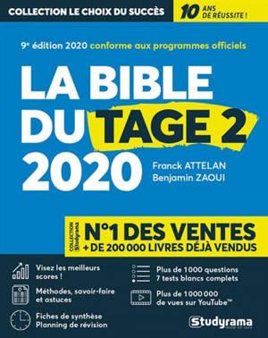La bible du Tage 2 2020