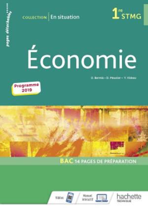 Economie 1re STMG : programme 2019