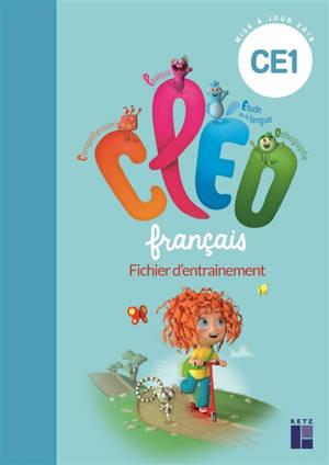 CLEO, français CE1 : fichier d'entraînement