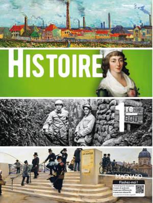 Histoire, 1re : manuel élève