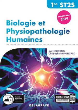Biologie et physiopathologie humaines, 1re ST2S : programme 2019