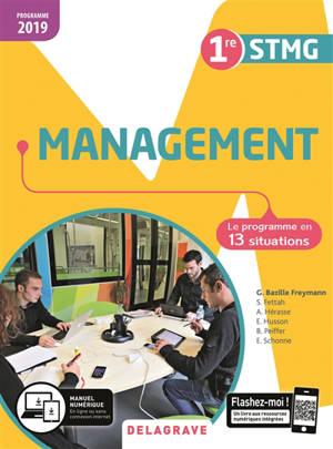 Management 1re STMG 2019 : pochette de l'élève