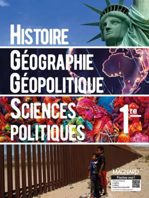 Histoire géographie, géopolitique, sciences politiques, 1re