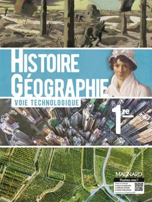 Histoire géographie 1re : voie technologique