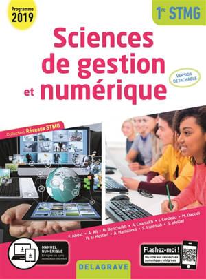 Sciences de gestion et numérique 1re STMG, 2019 : réseaux STMG : pochette élève