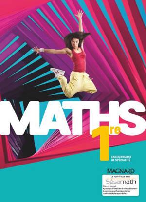 Maths 1re enseignement de spécialité : programme 2019