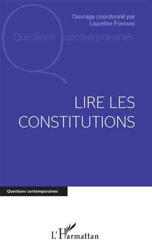 Lire les Constitutions