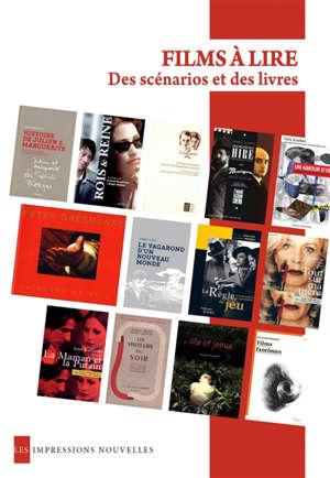 Films à lire : des scénarios et des livres