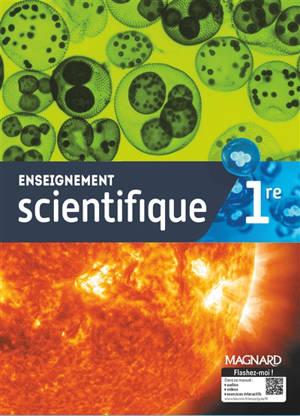 Enseignement scientifique, 1re : manuel élève