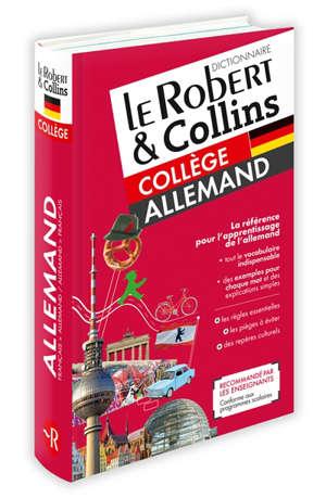 Le Robert & Collins collège allemand : dictionnaire français-allemand, allemand-français