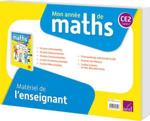 Mon année de maths CM1 : matériel enseignant